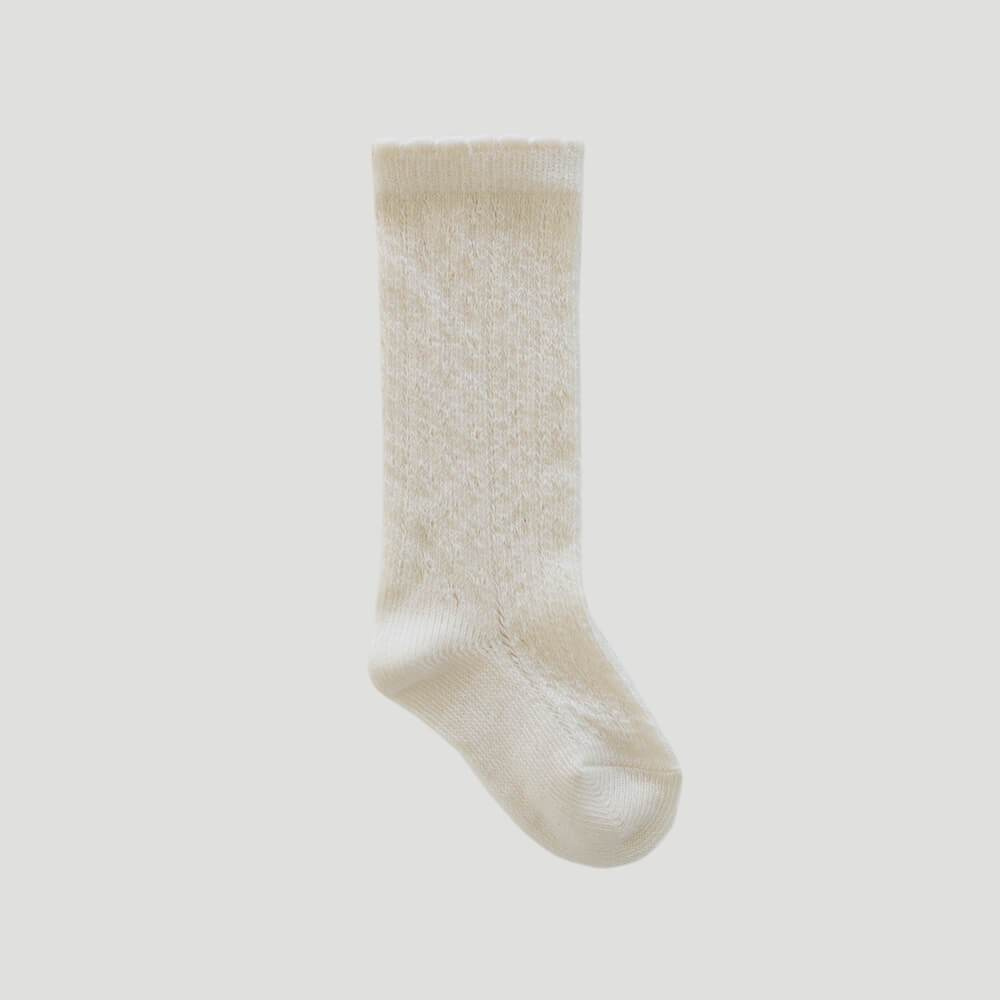 Jamie Kay Ellie Socks Milk | Tiny People