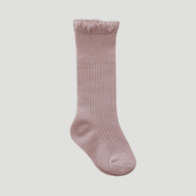 Jamie Kay Frill Socks Petal | Tiny People