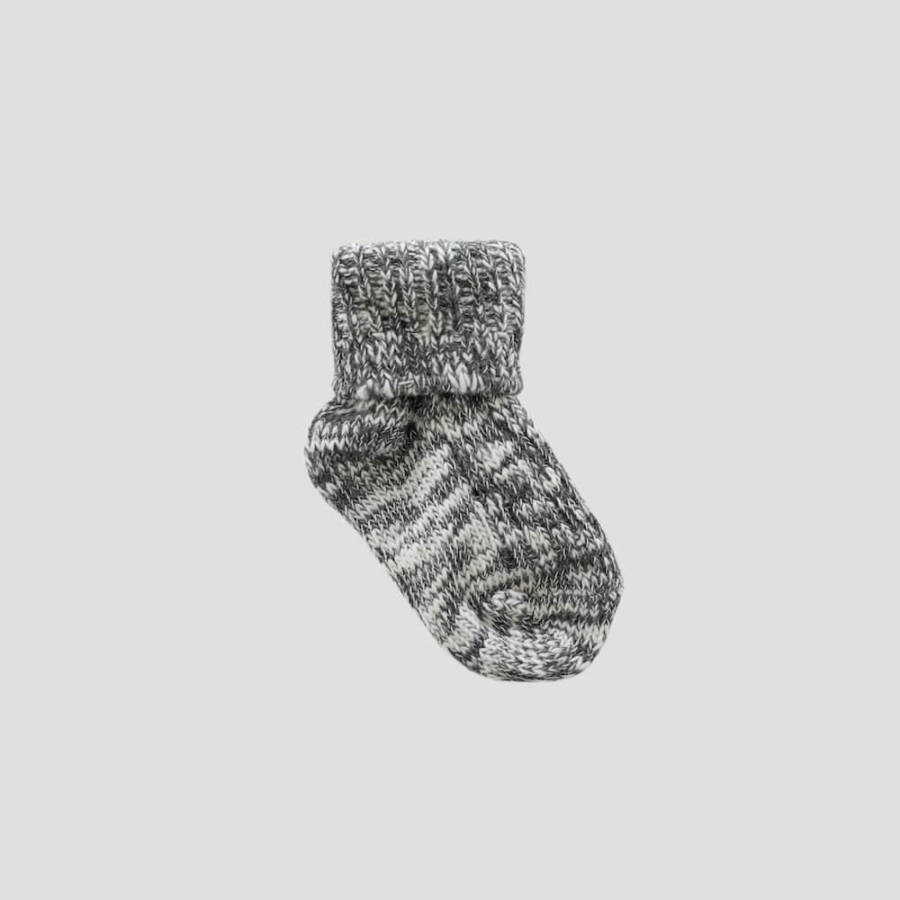 Jamie Kay Marle Sock Dark Grey | Tiny People