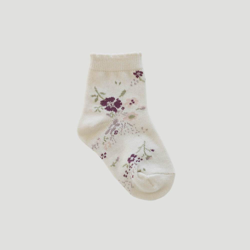 Sweet William Floral Socks