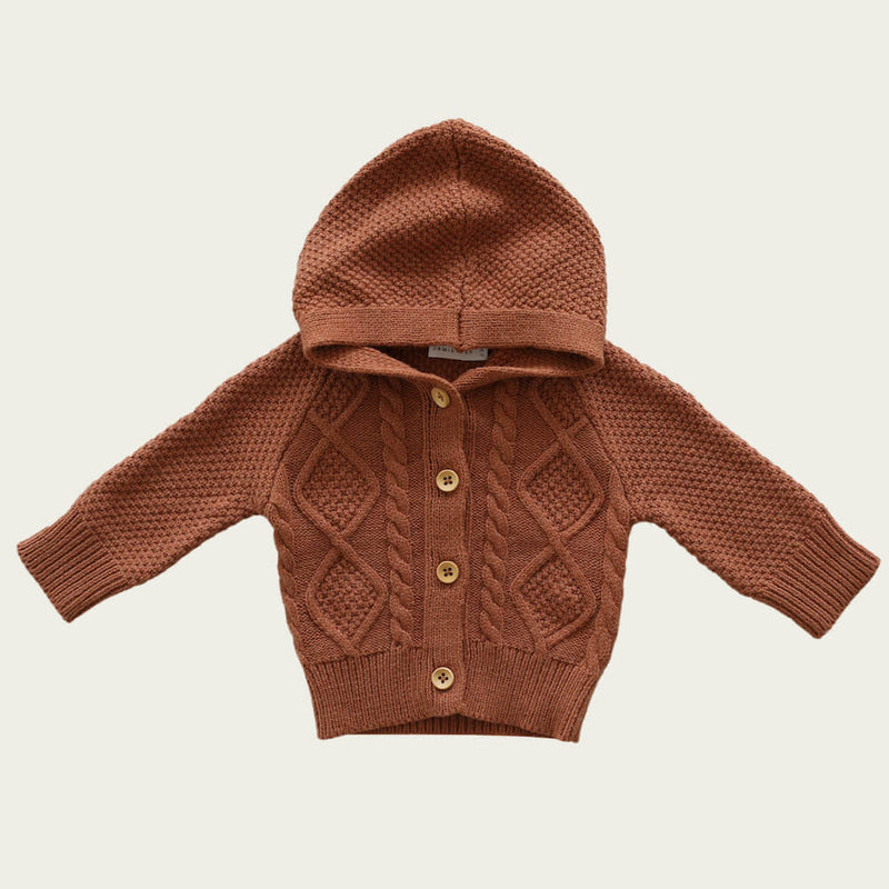 Jamie Kay Charlie Cardi Copper Marle | Tiny People