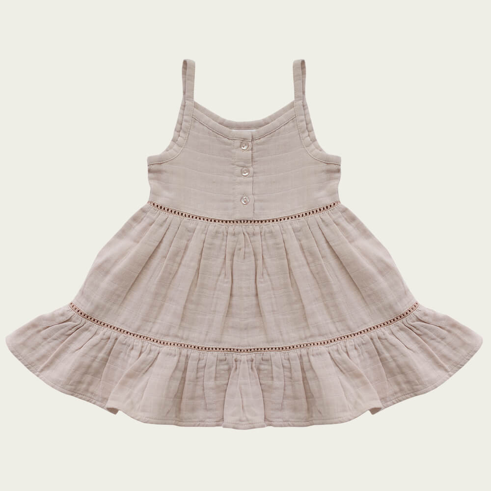Jamie Kay Hazel Dress Rose Dust | Tiny People