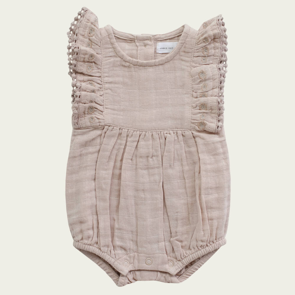 Jamie Kay Stella Playsuit Rose Dust | Tiny People