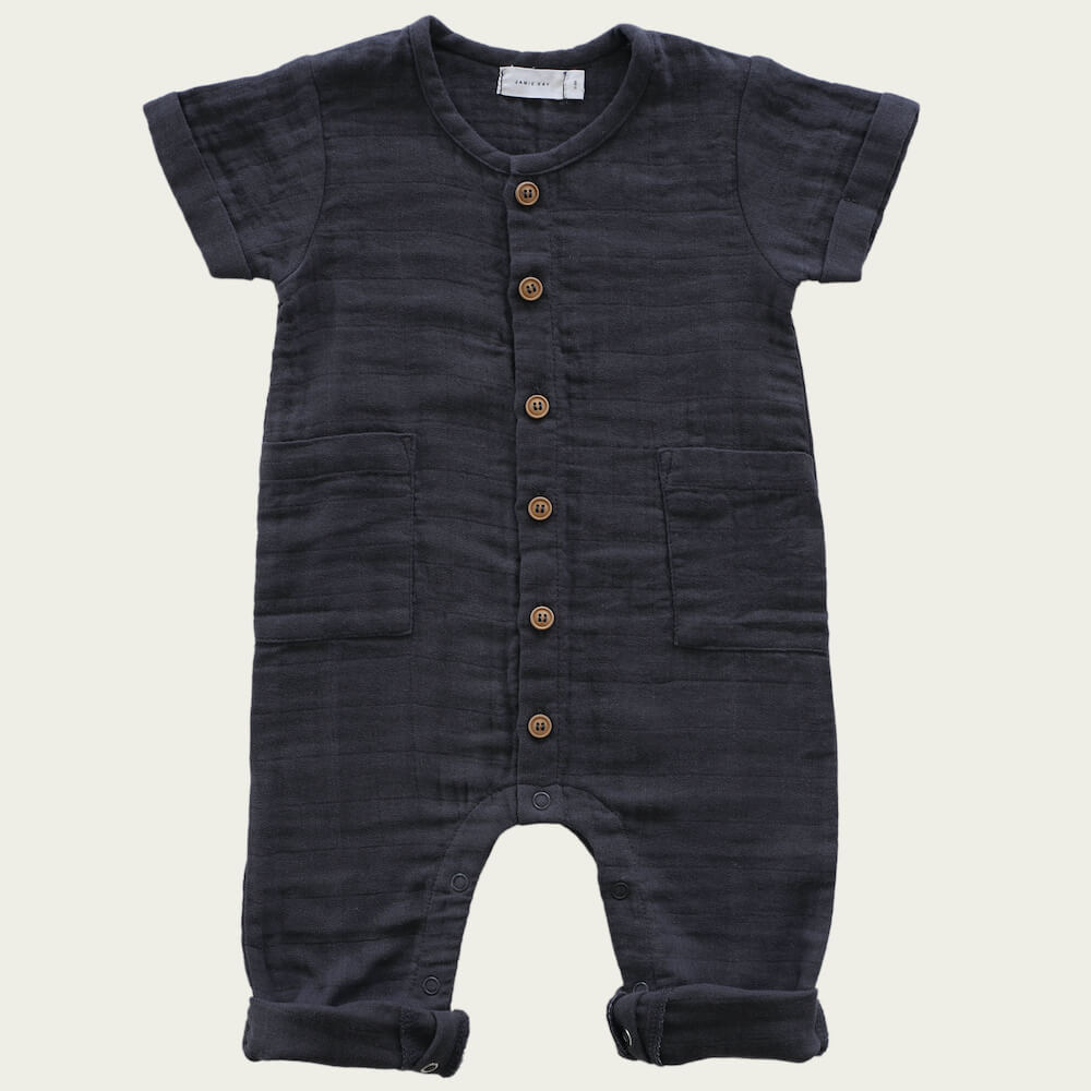 Jamie Kay Ryan Onepiece Graphite | Tiny People