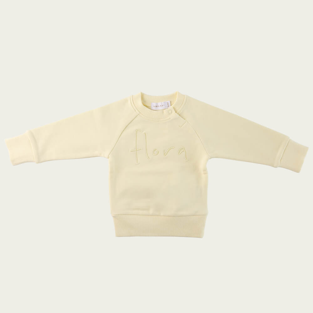 Jamie Kay Flora Sweatshirt Pear | Tiny People