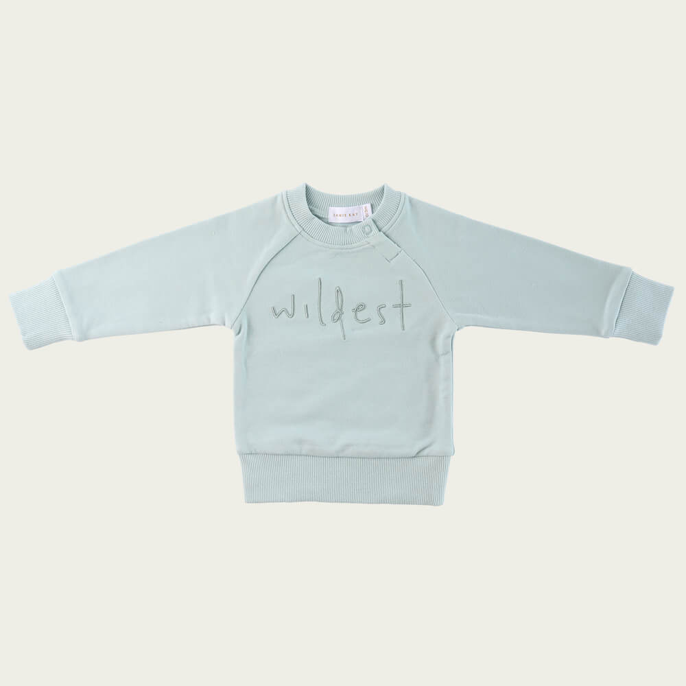 Jamie Kay Wildest Sweatshirt Ether | Tiny People