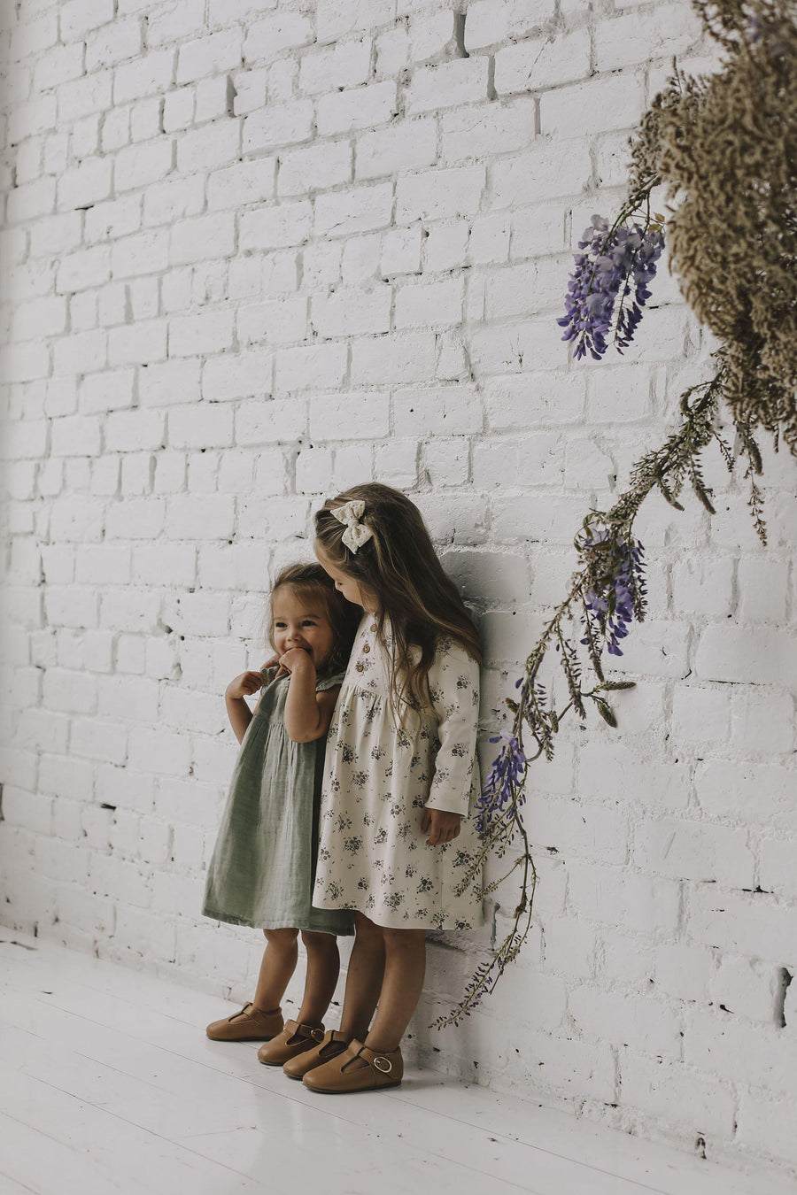 Jamie Kay Meadowlands Lace Dress in Sage at Tiny People Shop Australia.