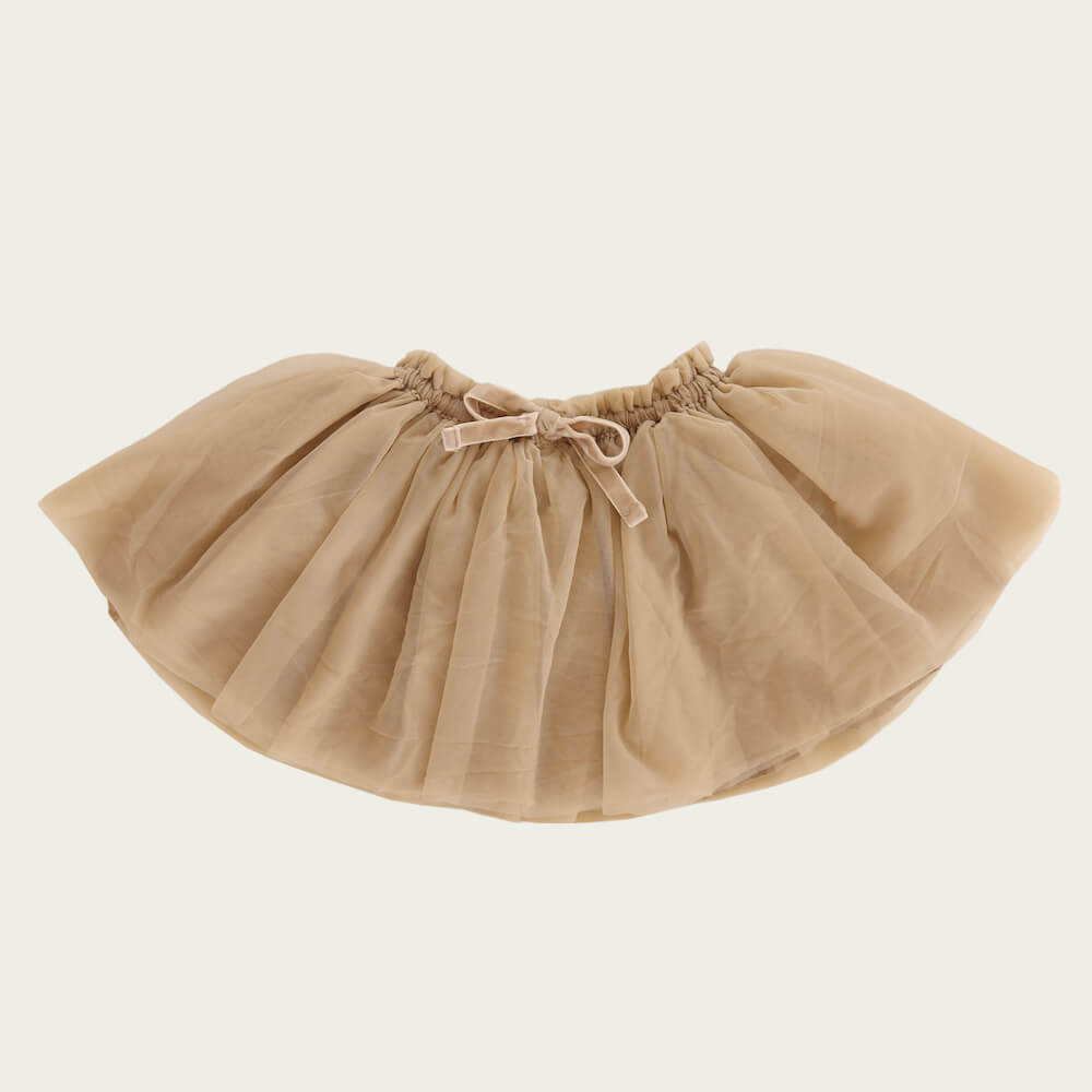 Jamie Kay Soft Tulle Skirt Champagne | Tiny People