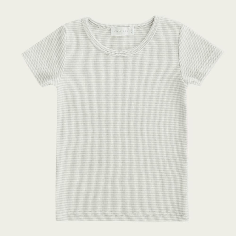 Jamie Kay Tommy Tee Fox Stripe | Tiny People