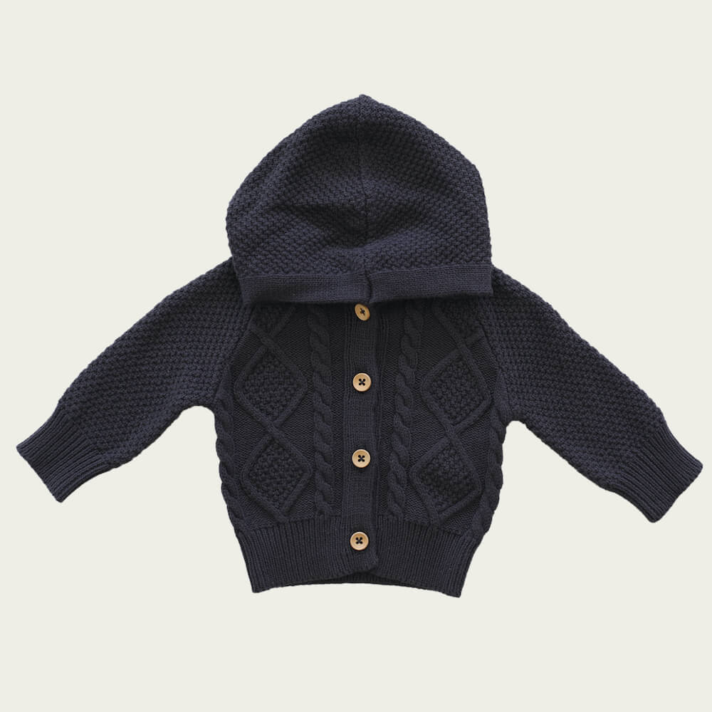 Jamie Kay Charlie Cardi Oxford | Tiny People