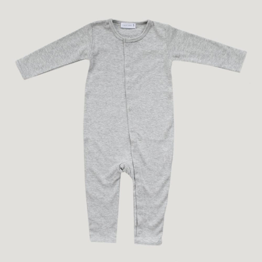 Jamie Kay Pima Cotton Onepiece - Light Grey Marle - Tiny People Cool Kids Clothes Byron Bay