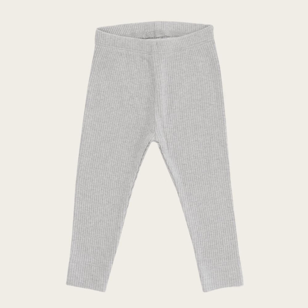 Jamie Kay Cotton Modal Leggings Grey Marle | Tiny People