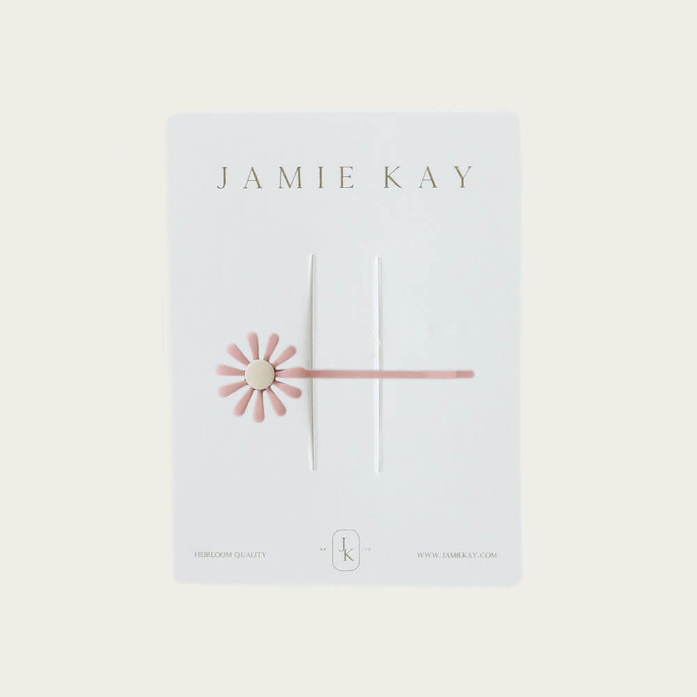 Jamie Kay Kate Clip Dusky Pink | Tiny People