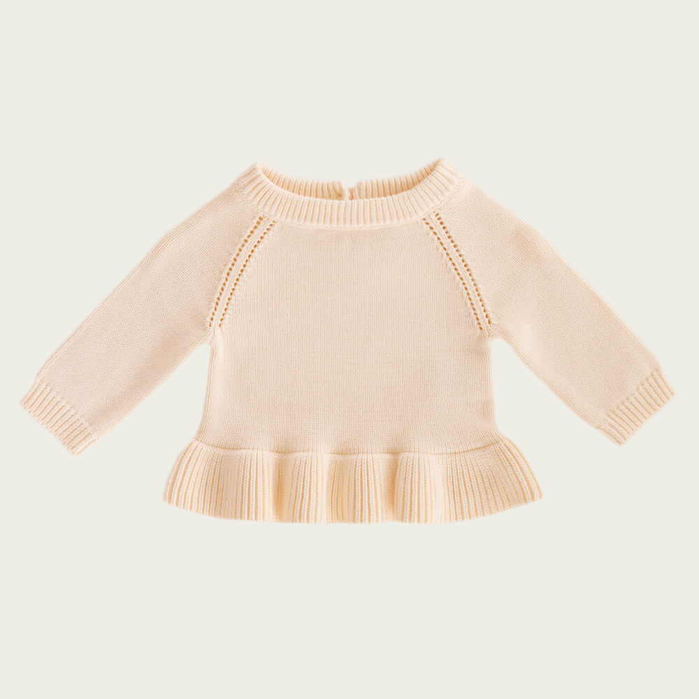 Jamie Kay Ava Knit Peachy | Tiny People