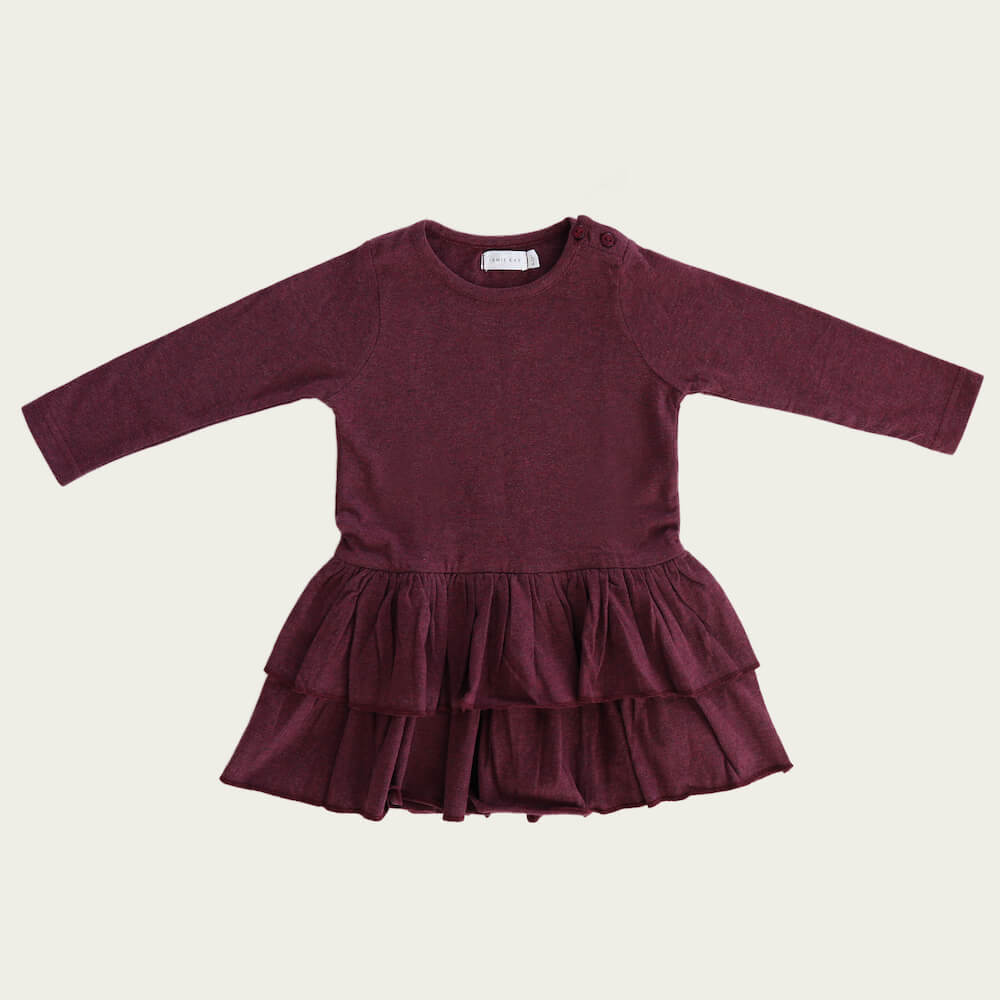 Jamie Kay Echo Dress Plum | Tiny People