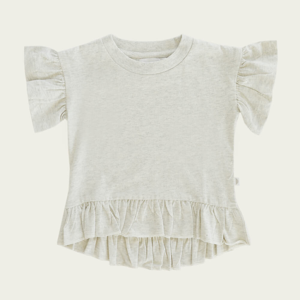 Jamie Kay Eden Top Linen | Tiny People