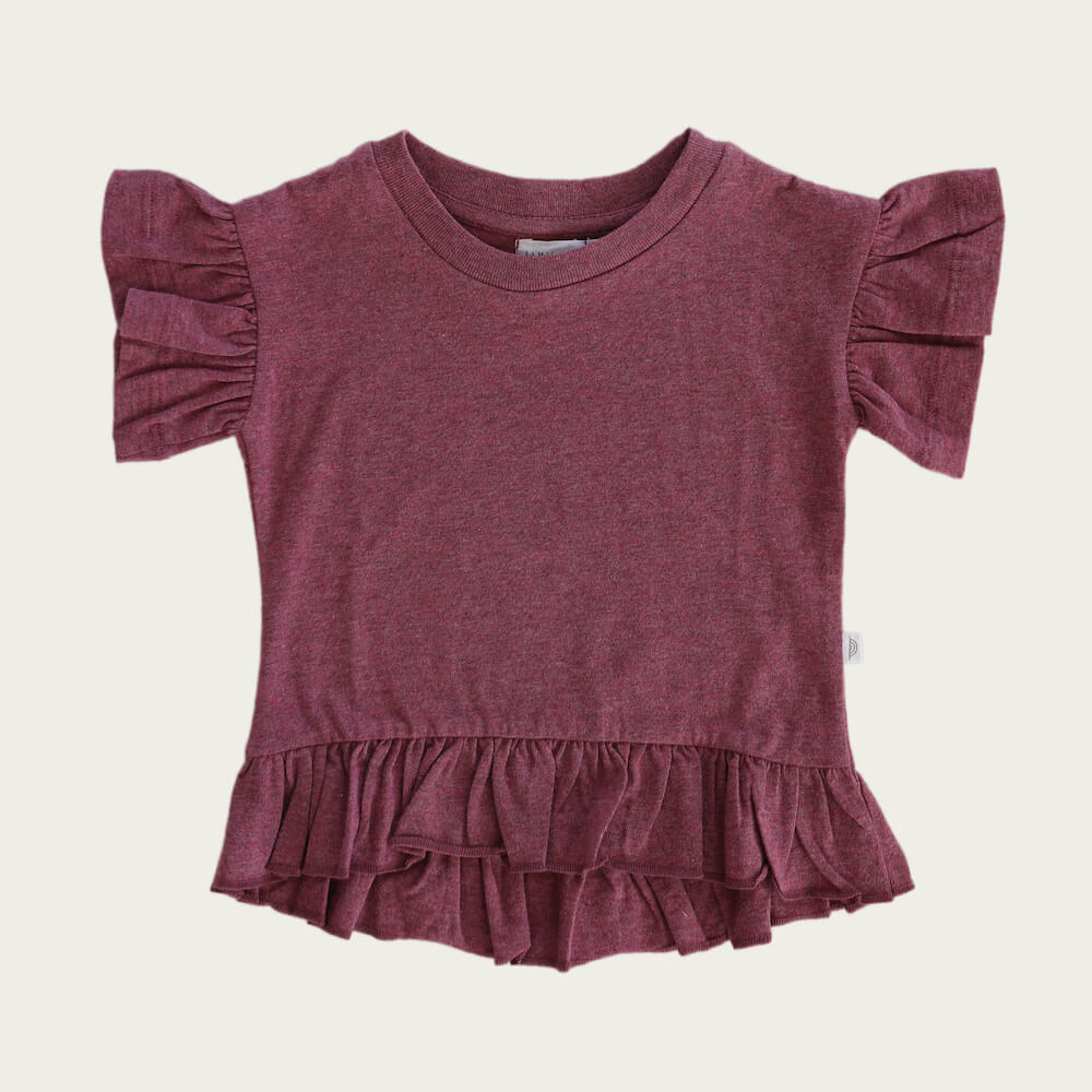 Jamie Kay Eden Top Pink Raspberry | Tiny People