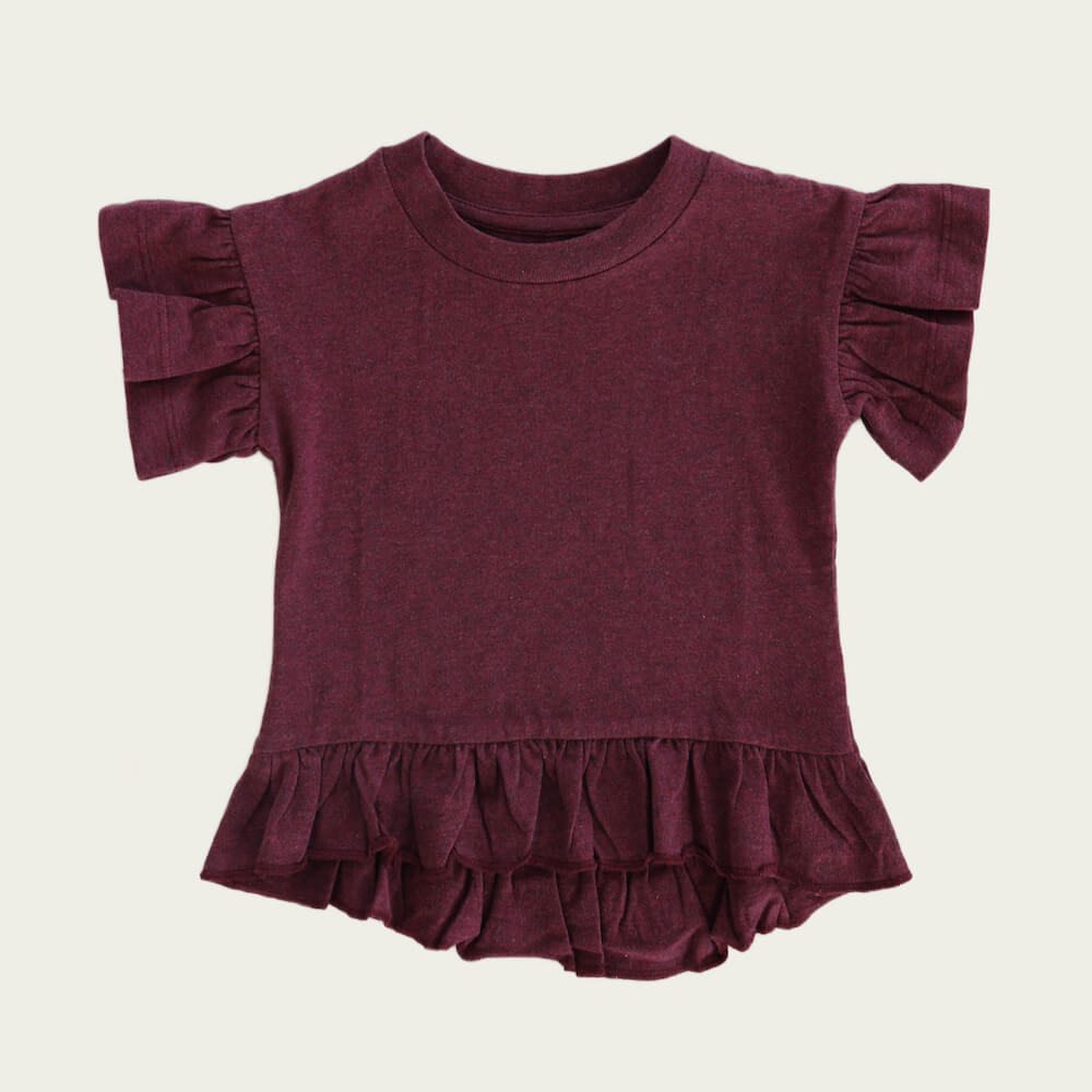 Jamie Kay Eden Top Plum | Tiny People