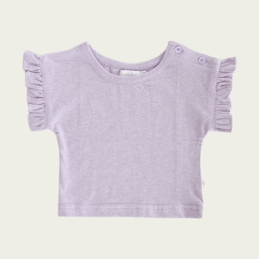 Jamie Kay Fleur Top Violet | Tiny People