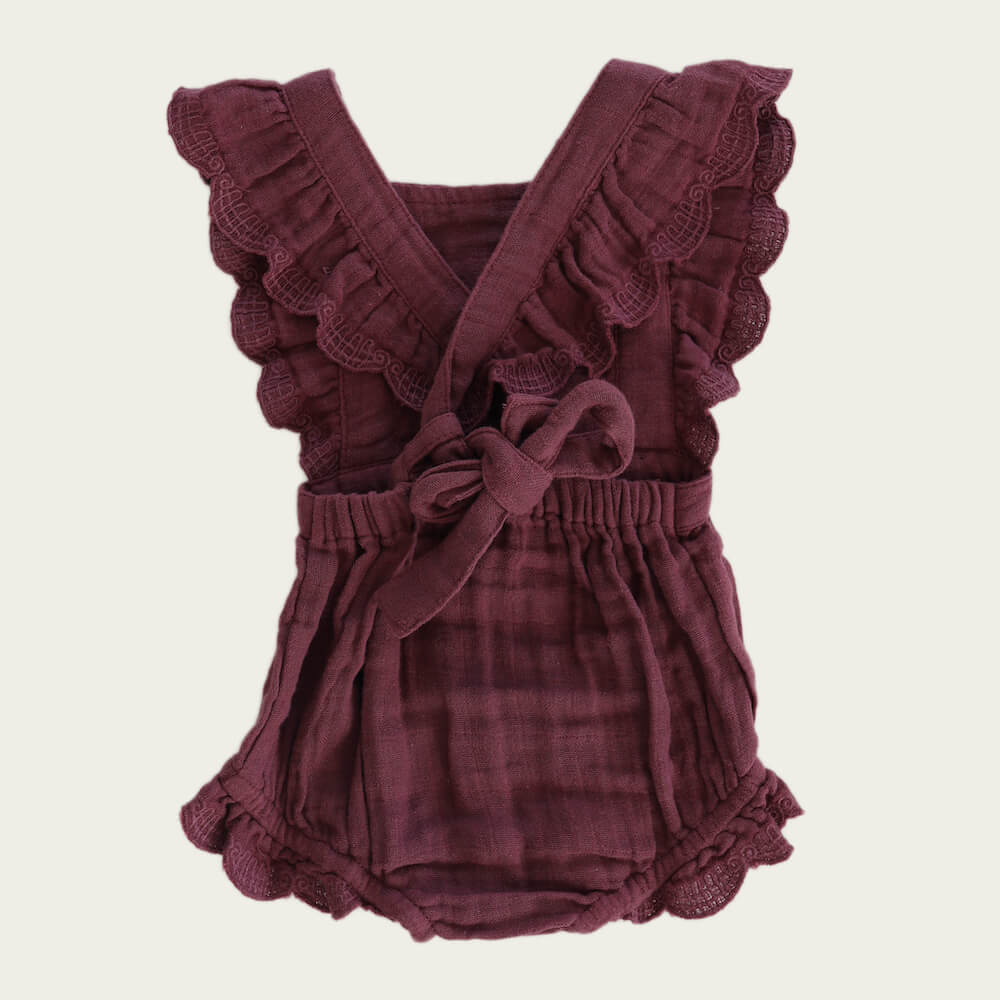 Macy Playsuit Grape