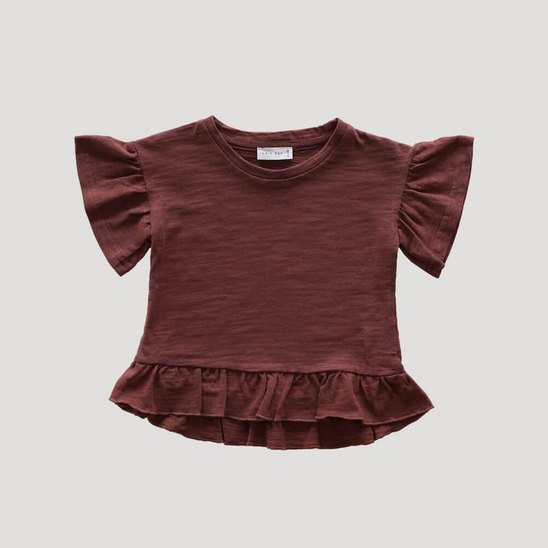 Jamie Kay Eden Top Clay Tops - Tiny People Cool Kids Clothes