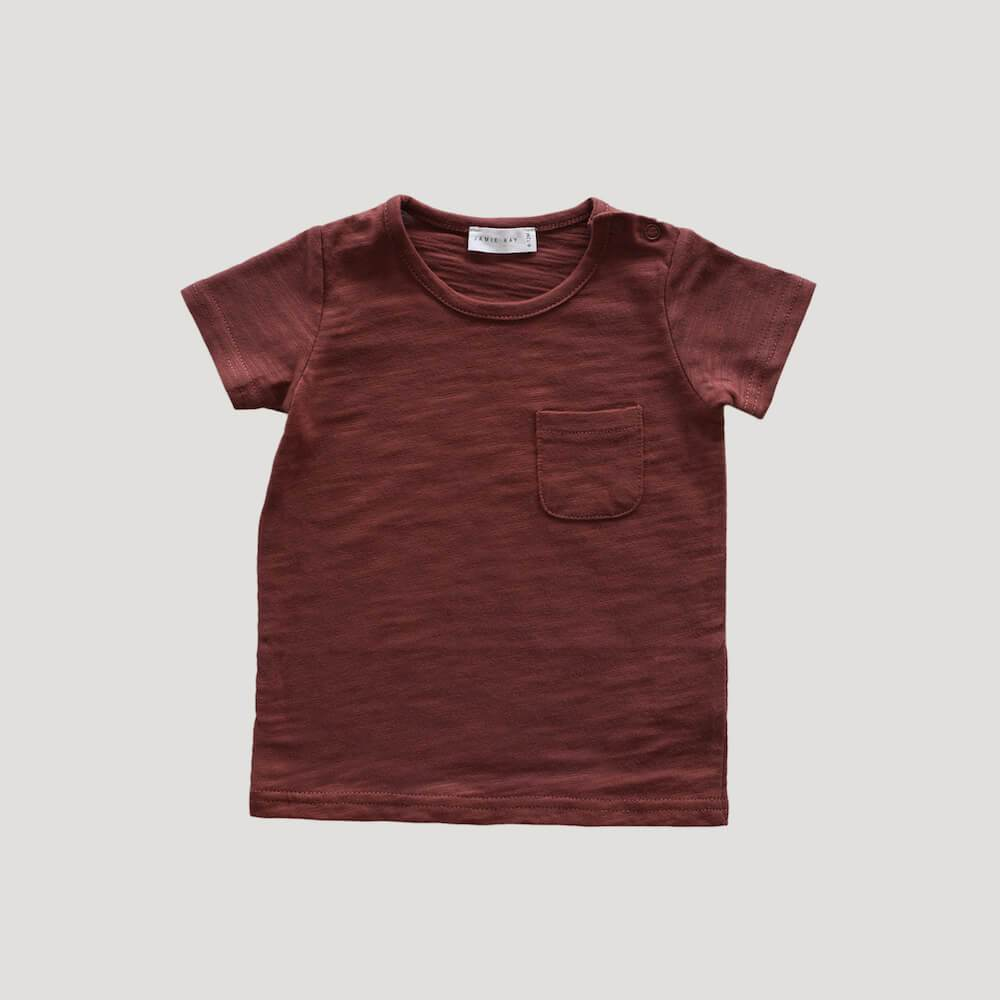Jamie Kay Sam Tee Clay Tops - Tiny People Cool Kids Clothes
