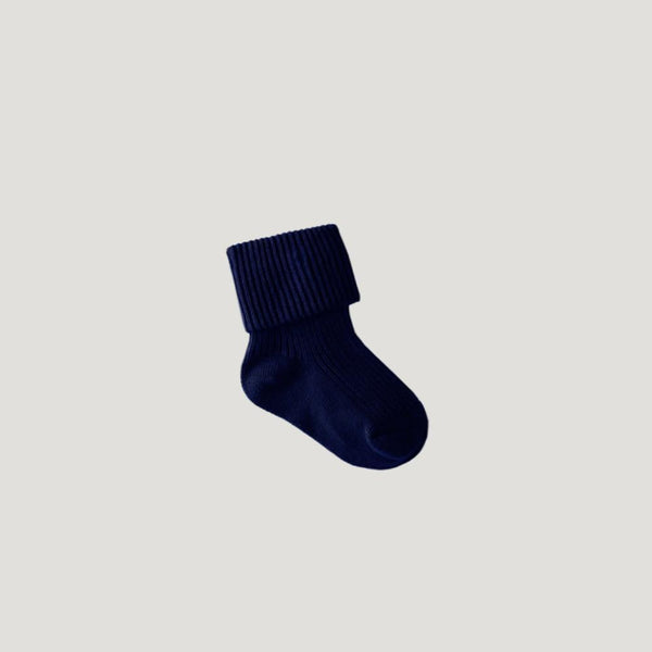Jamie Kay Rib Socks - French Blue - Tiny People Cool Kids Clothes Byron Bay