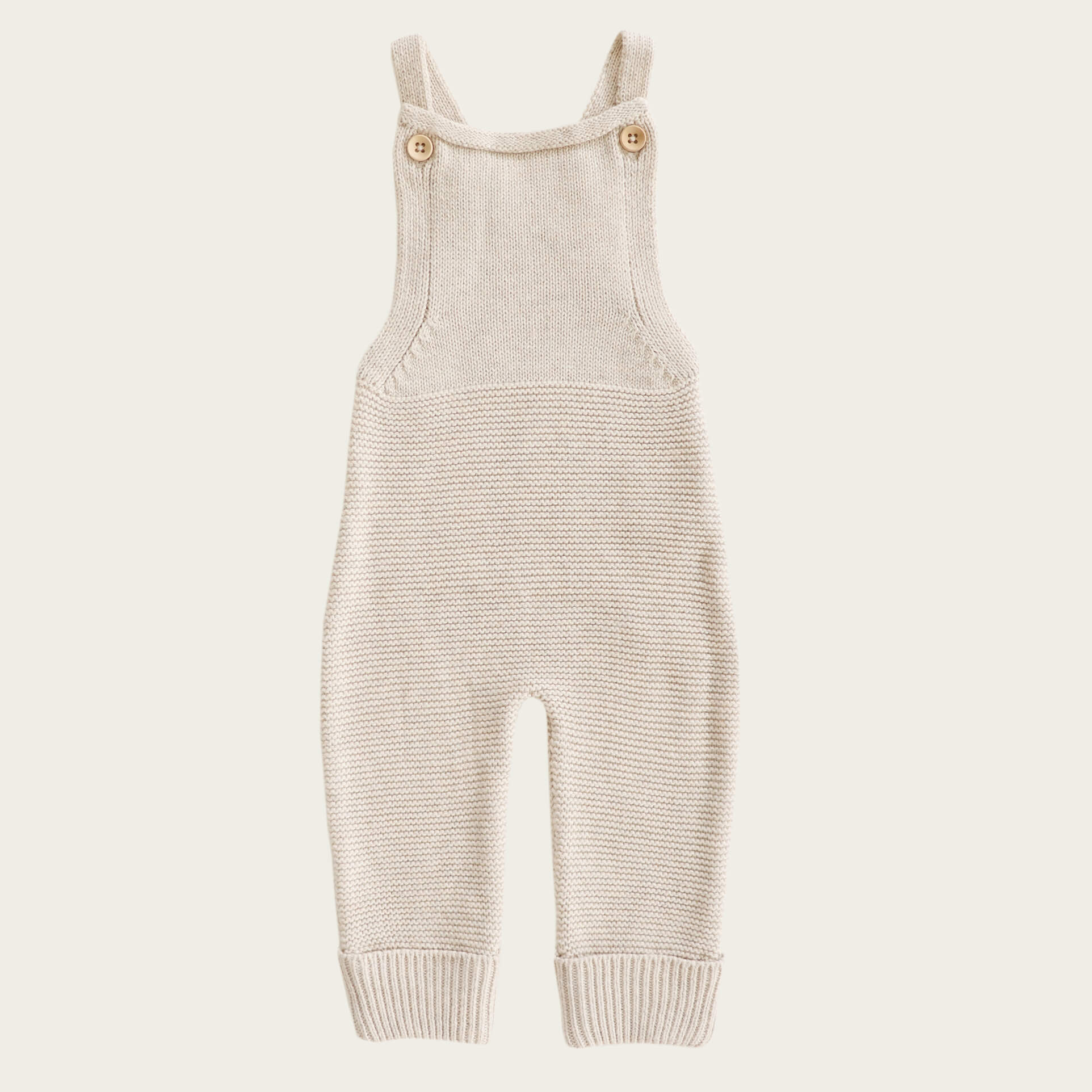 Jamie Kay Alex Romper Oatmeal Fleck | Tiny People