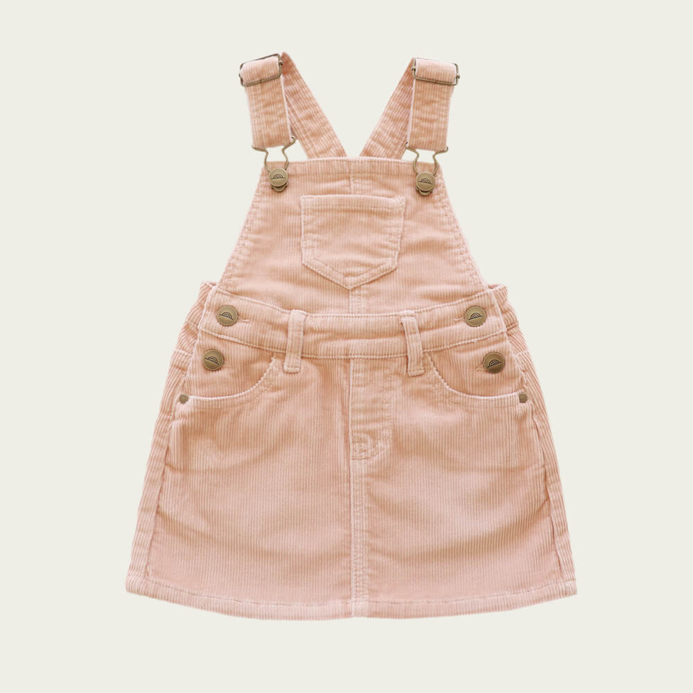 Jamie Kay Chloe Overall Dress Angel Cord | Tiny People