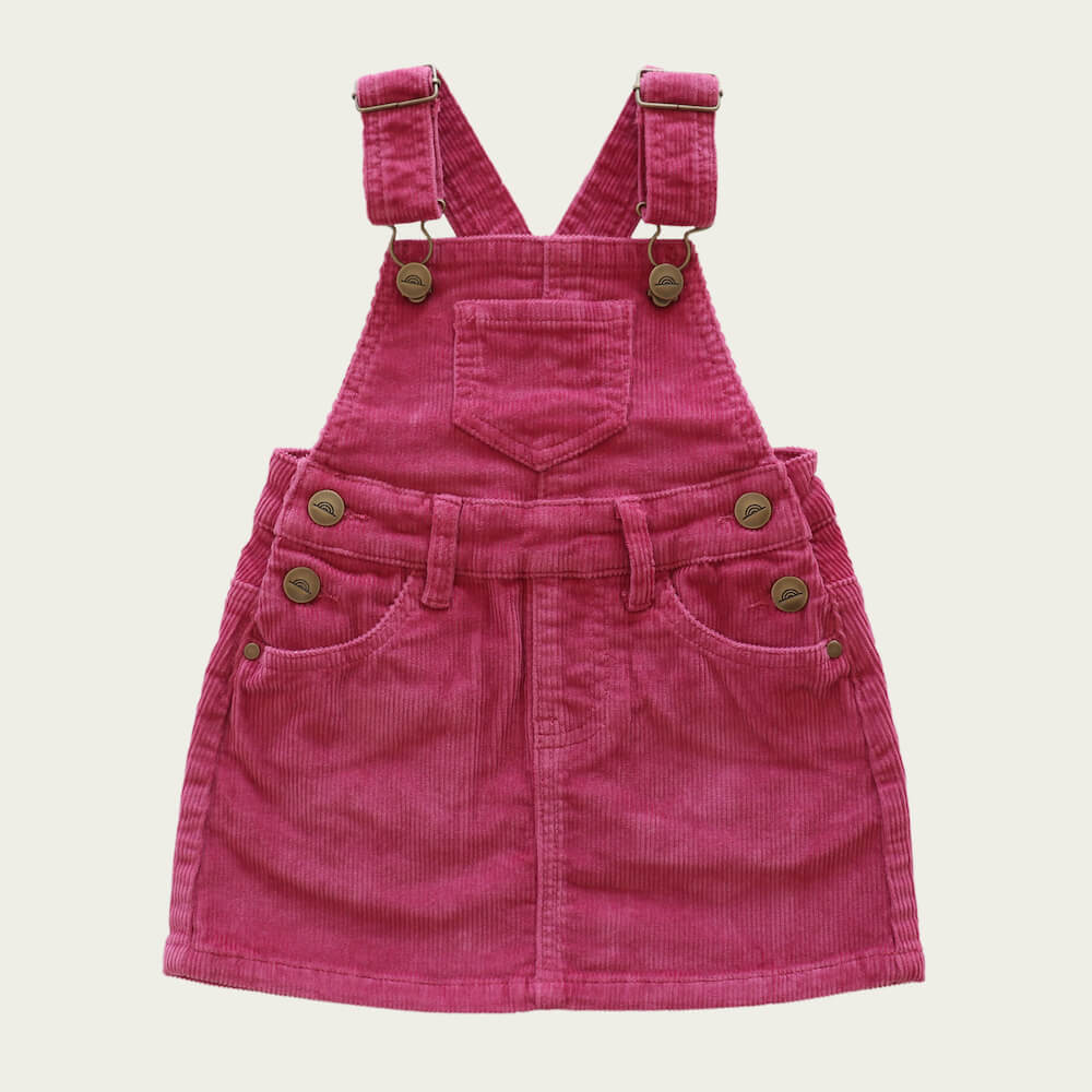 Jamie Kay Chloe Overall Dress Blossom Cord | Tiny People