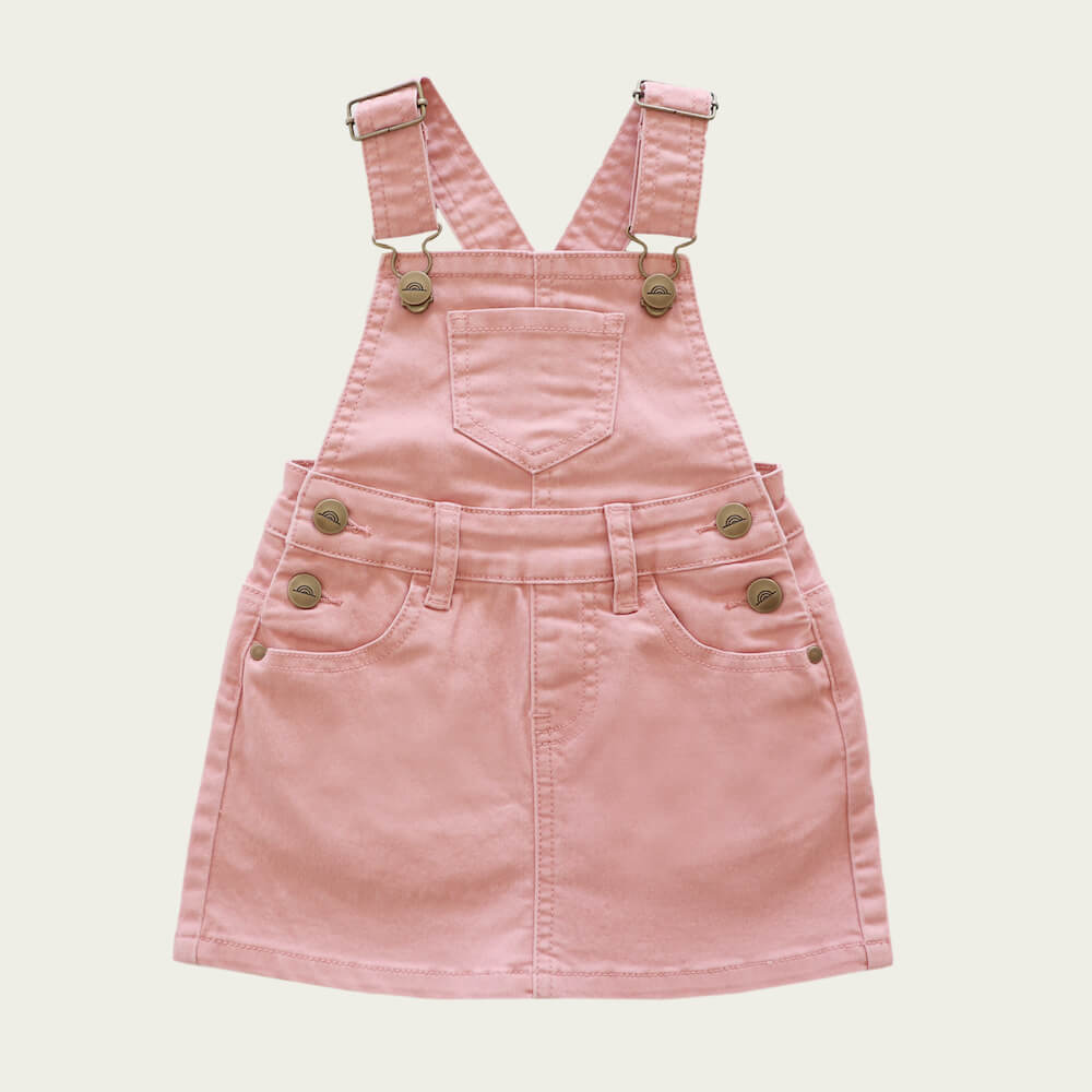 Jamie Kay Chloe Overall Dress Rose | Tiny People
