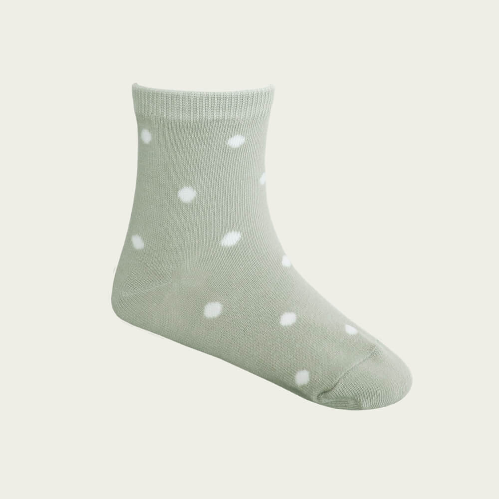 Dotty Socks Honeydew