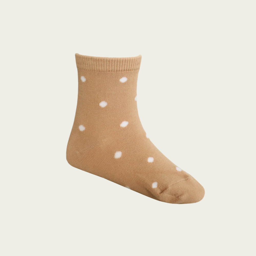 Jamie Kay Dotty Socks Sandy | Tiny People