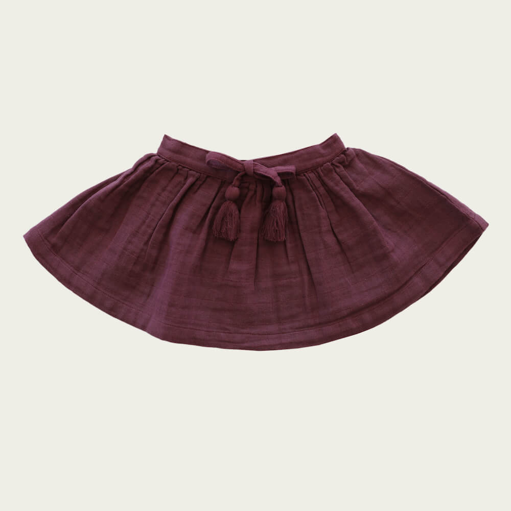 Jamie Kay Hazel Skirt Grape | Tiny People