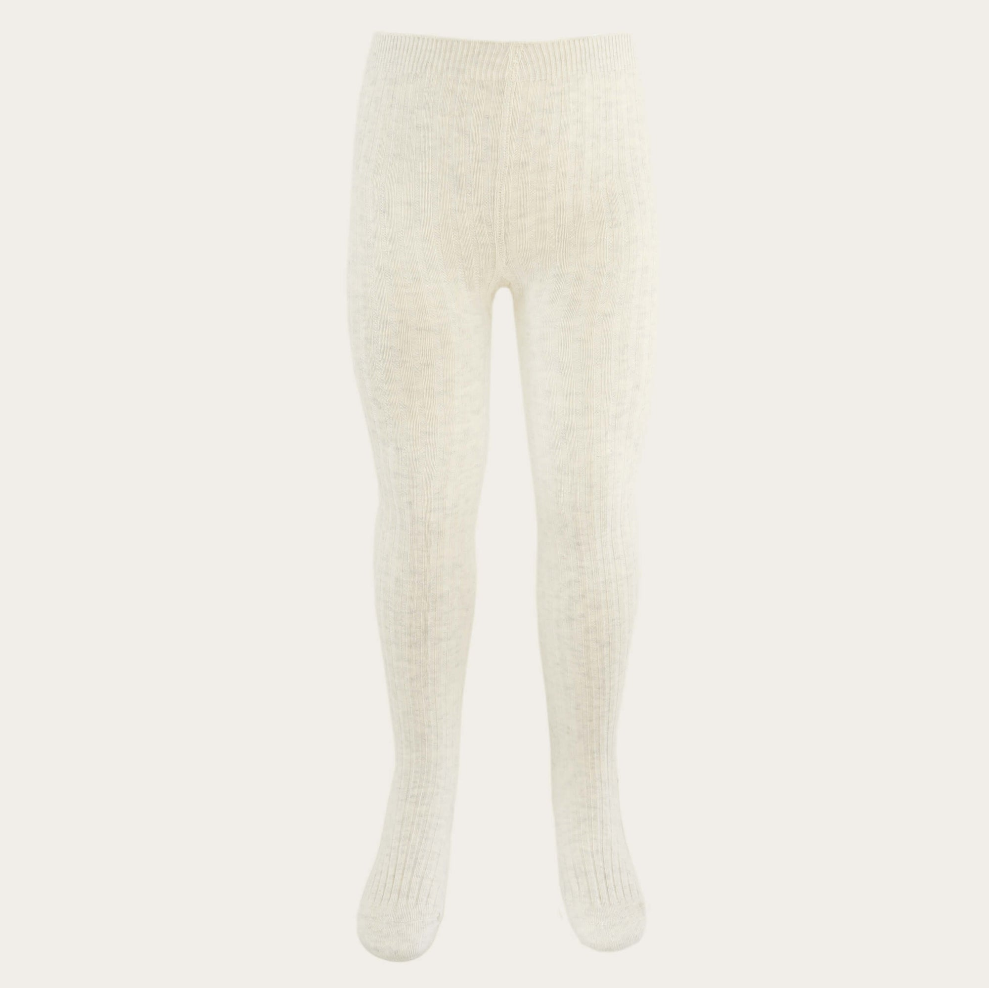 Jamie Kay Ribbed Tights Oatmeal | Tiny People