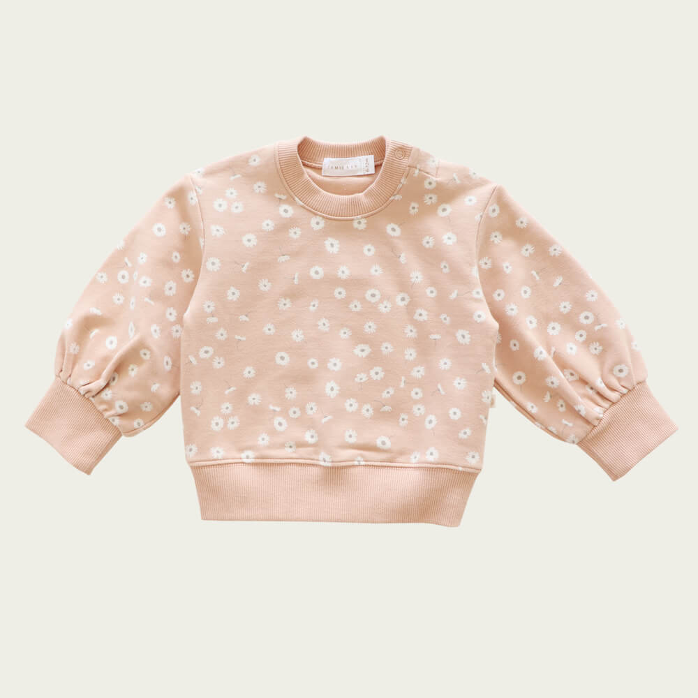 Jamie Kay Penny Sweat Daisy Print | Tiny People