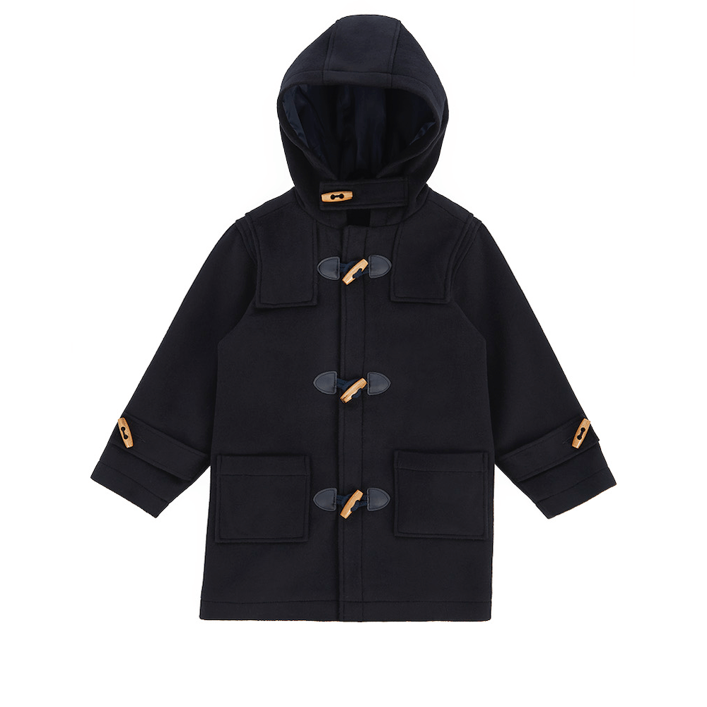 Armor Lux Duffle Coat Navy Jackets & Vests - Tiny People Cool Kids Clothes