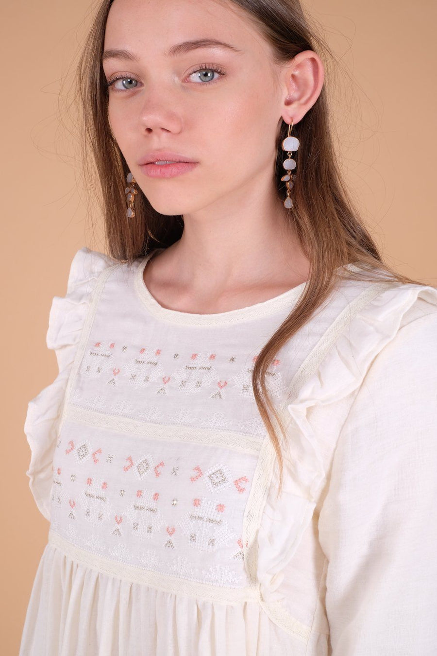 Katli Earrings Ice