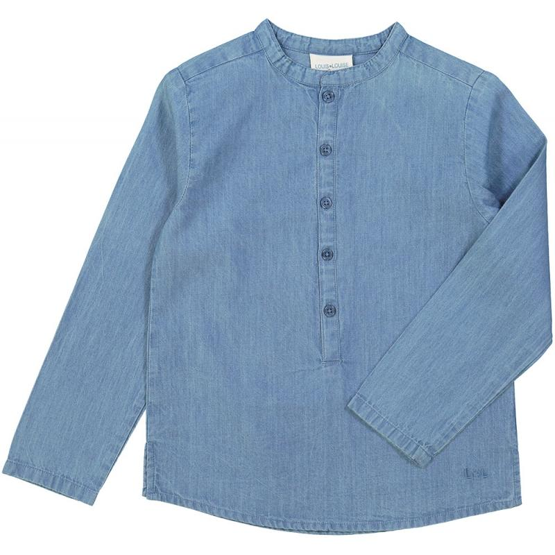 Shirt Grand-Pere Chambray Blue