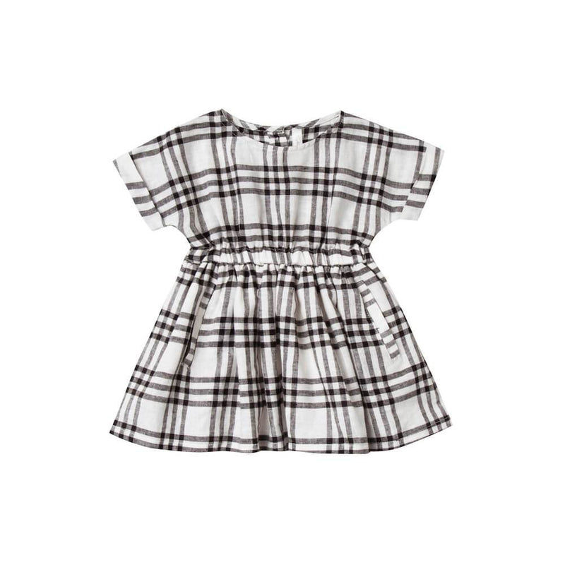 Rylee & Cru Kat Dress Check Dresses - Tiny People Cool Kids Clothes