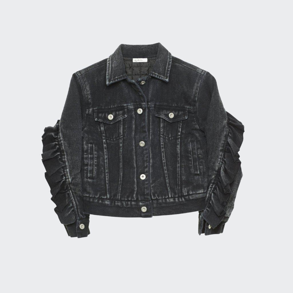 I Dig Denim Kim Jacket Black boys tops - Tiny People Cool Kids Clothes