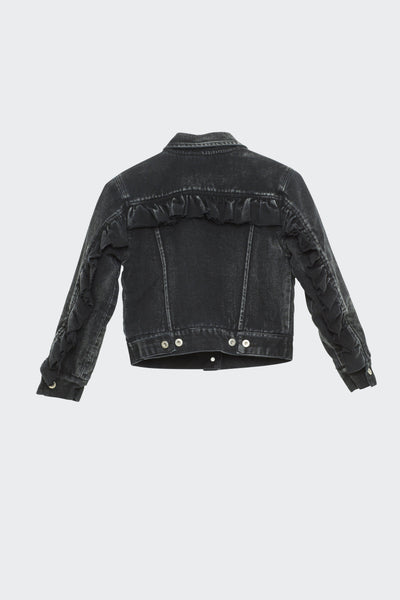 I Dig Denim Kim Jacket Black - Tiny People Cool Kids Clothes Byron Bay