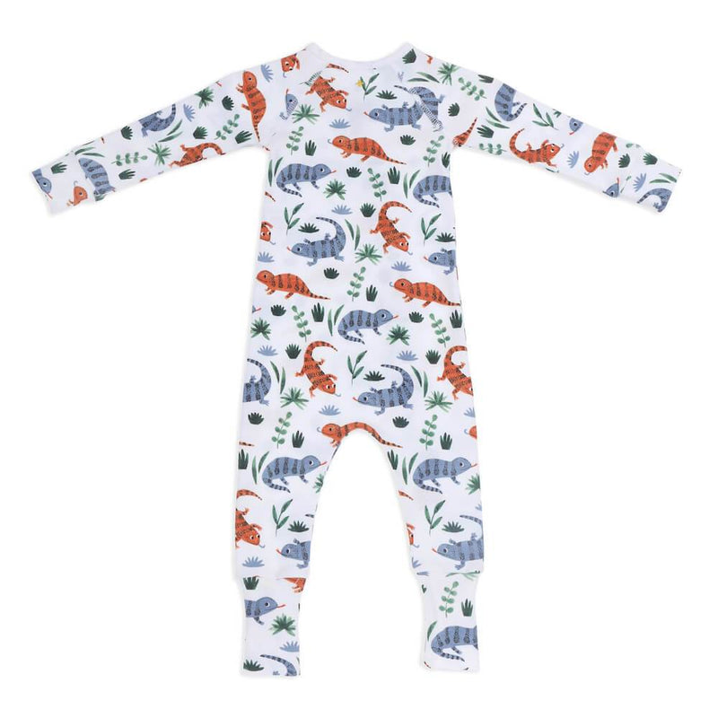 Goldie & Ace Lizards Zipsuit Romper - Tiny People Cool Kids Clothes