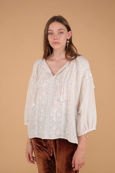 Louise Misha Women's Ljubiaka Blouse at Tiny People shop.