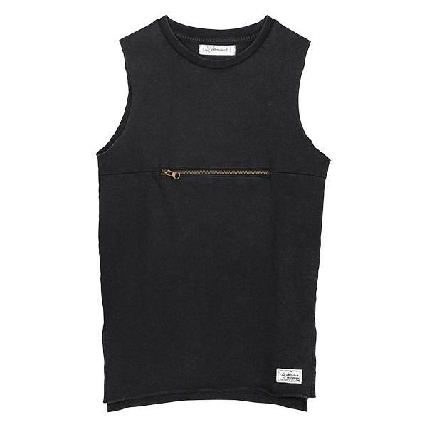 I Dig Denim Leo Singlet Zip Black Tops & Tees - Tiny People Cool Kids Clothes