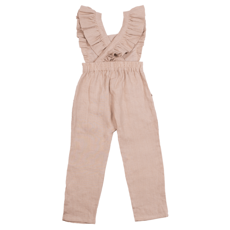 Fox & Horn Little Adventurer Overalls - Blush - Tiny People Cool Kids Clothes Byron Bay