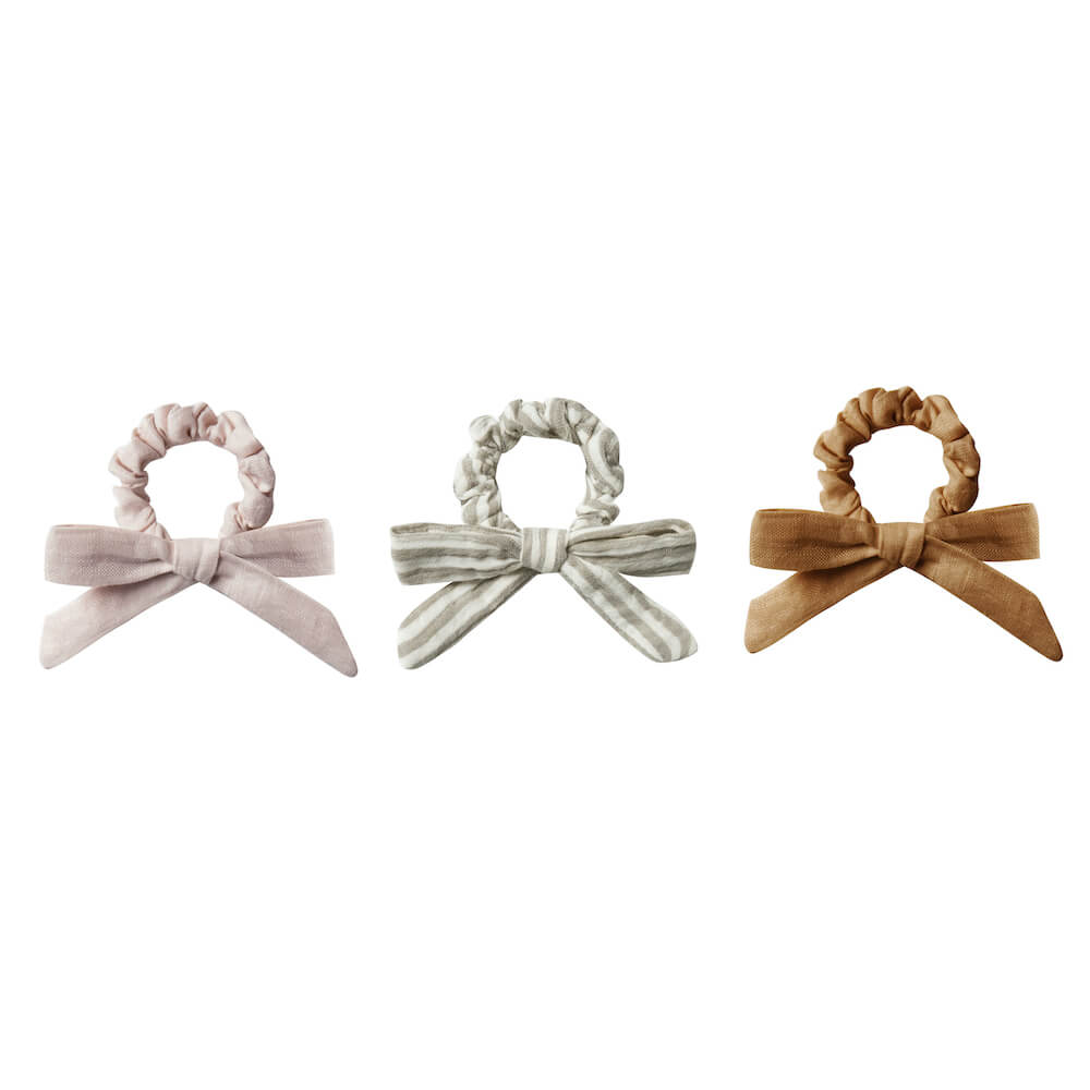 Rylee & Cru Little Bow Scrunchie Set | Tiny People