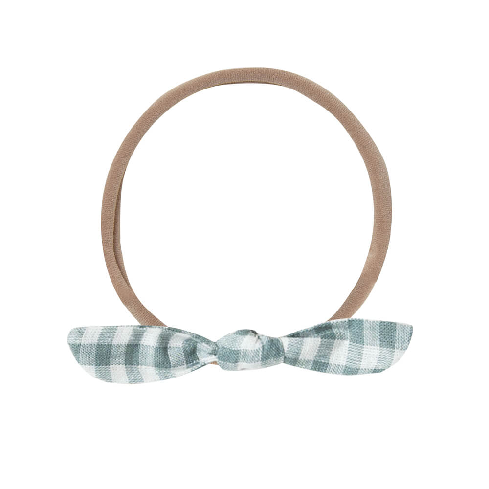 Rylee & Cru Little Knot Headband Gingham | Tiny People