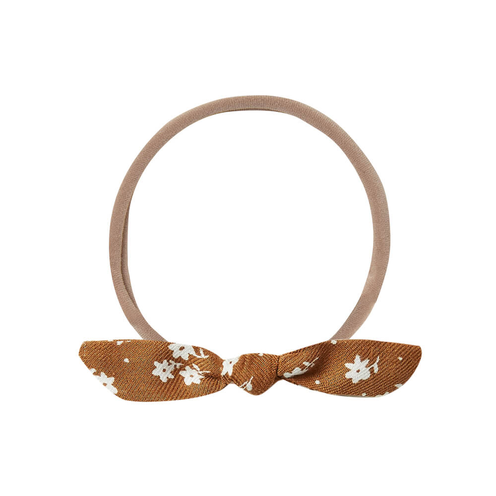 Rylee & Cru Knot Headband Cinnamon Ditsy | Tiny People