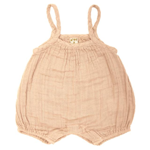 Numero 74 Lolita Baby Romper Pale Peach - Tiny People Cool Kids Clothes Byron Bay